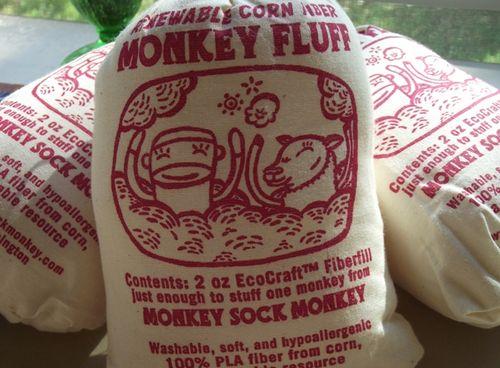 Monkey fluff large