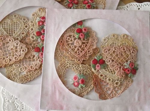 Heart applique package