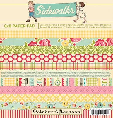 Sidewalks paper pad