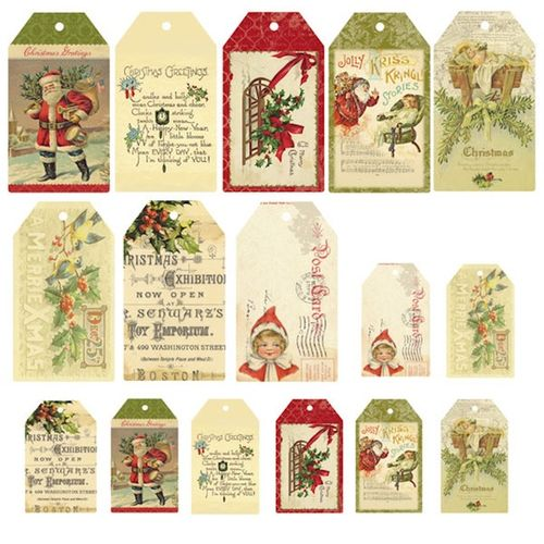 Deck the Halls Tag Collection large