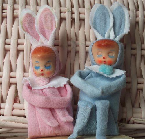 Vintage bunny knees