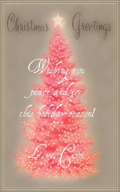 Merry Christmas Niece.Little Pink Studio Merry Christmas