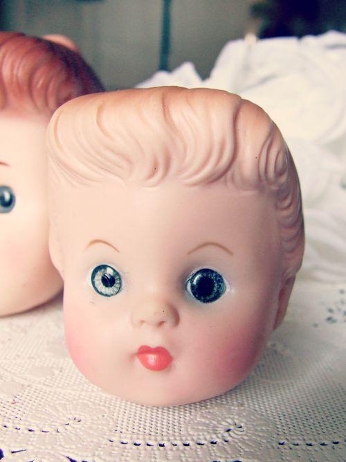 Vintage doll head2
