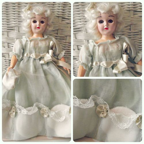 Pouf doll Collage