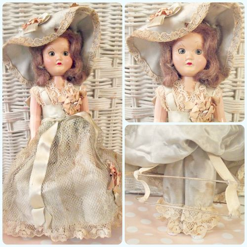Hoop doll Collage