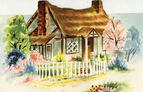 Cottage background