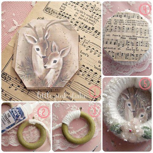 Ring ornament tut collage