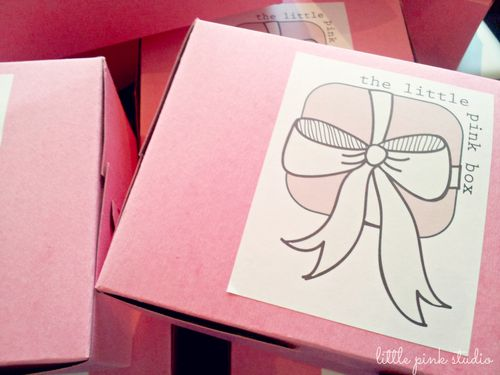 June little pink box