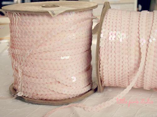 Vintage pink sequins lg