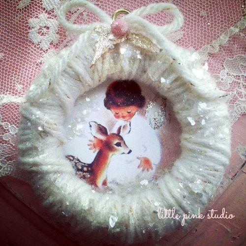 2013 yarn ornament
