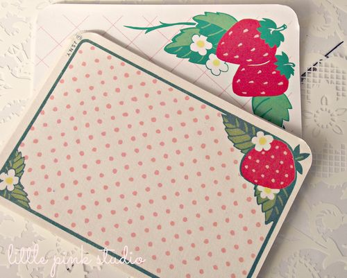 Vintage strawberry notes