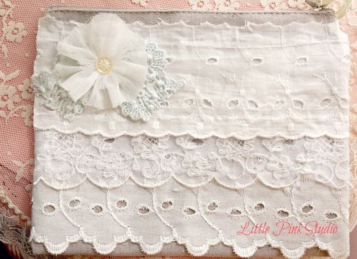 Lace bag april