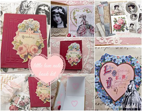 Little love note book kit
