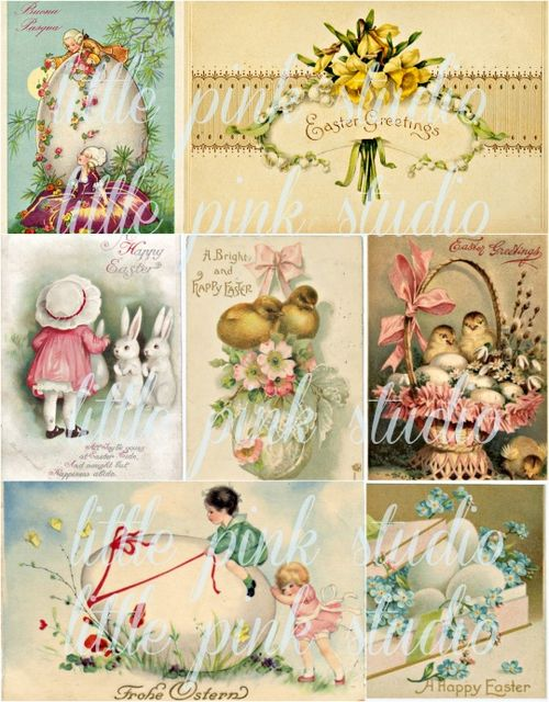 LPS Easter Greetings collage lg
